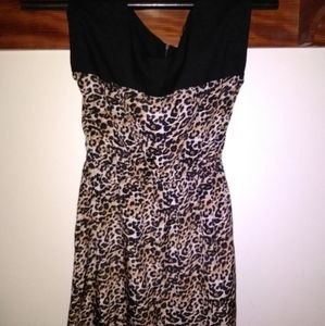 BeBop Leopard Print dress